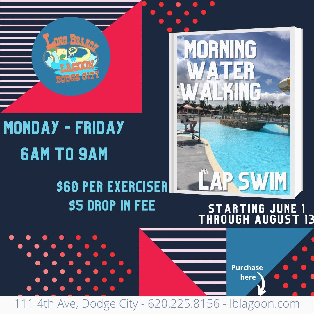 Morning Exercise and Lap Swim times and prices